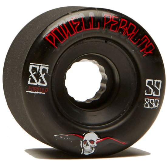 Powell Peralta G-Slides Longboard Wheels - Black - 59mm 85a