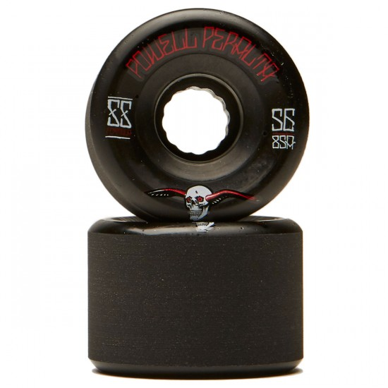 Powell Peralta G-Slides Longboard Wheels - Black - 56mm 85a