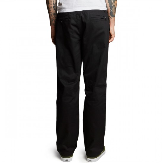 Altamont A/989 Straight Chino Pants - Black - 30 - 32