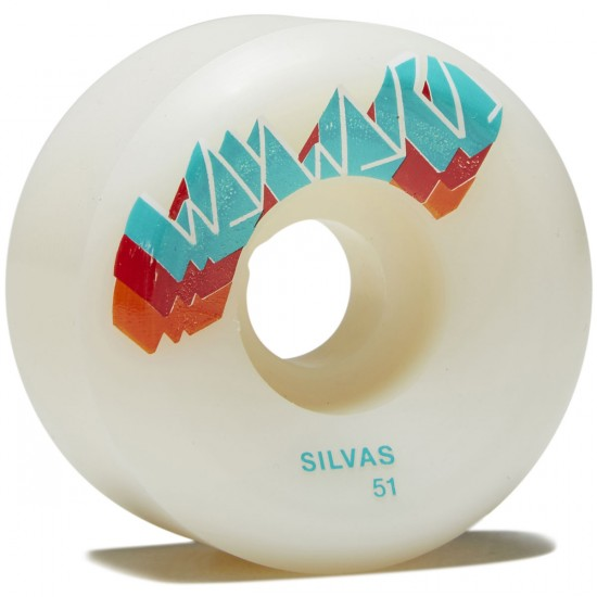 Wayward Three Stack Silvas Skateboard Wheels - Rust - 51mm