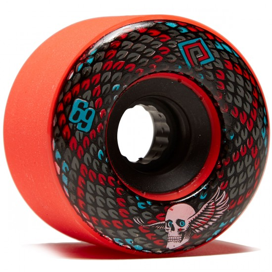 Powell Peralta Snakes Longboard Wheels - Red - 69mm 75a