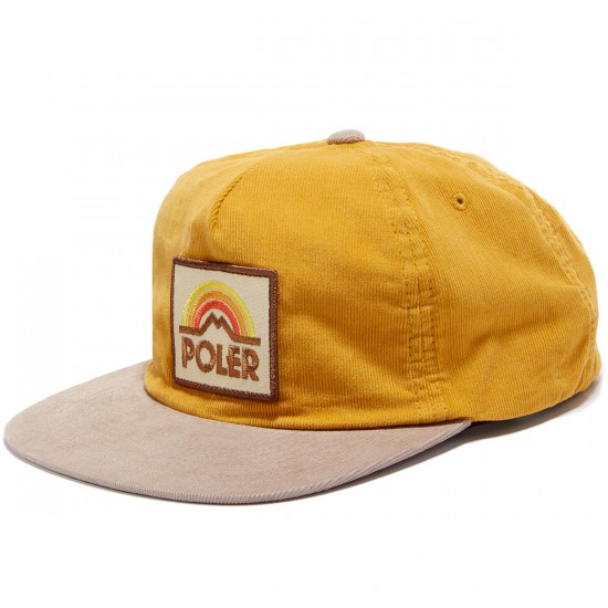 Poler Mtn Sunset Grampa Cordy Hat - Field Yellow
