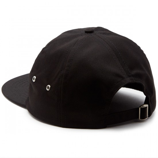 Casual Industrees PNW Strapback Hat - Black