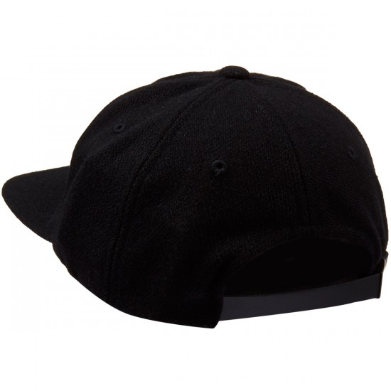 Tavik Griffey Hat - Jet Black