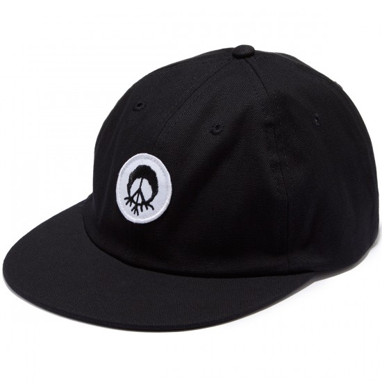 Gnarly Burnout Patch Hat - Black