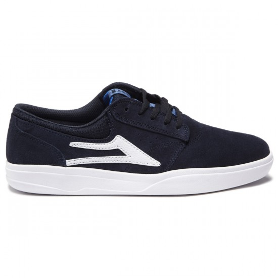 Lakai Griffin XLK Shoes - Navy Suede - 8.0