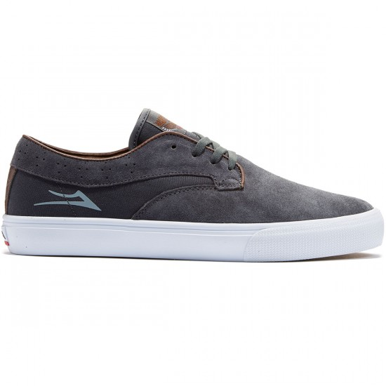 Lakai Riley Hawk Shoes - Charcoal - 8.0