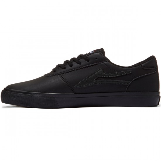 Lakai Manchester Shoes - Black/Black - 8.0