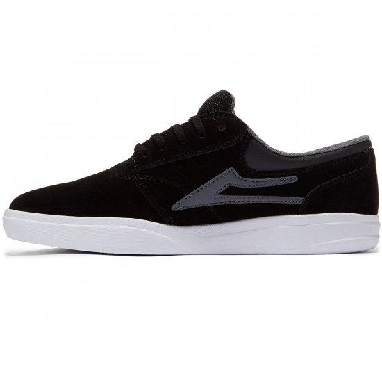 Lakai Griffin XLK Shoes - Black/Grey - 8.0