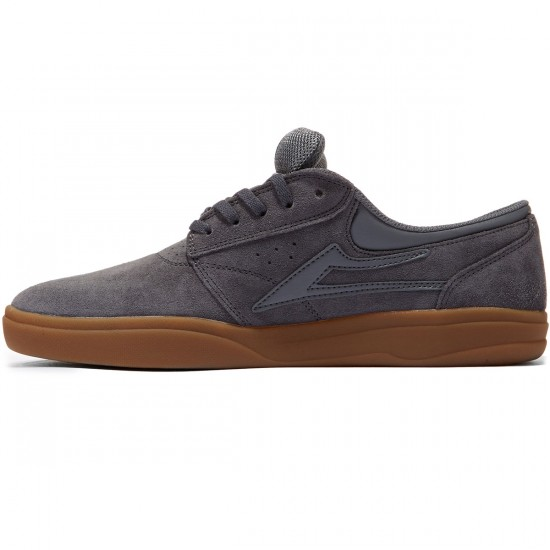 Lakai Griffin XLK Shoes - Grey/Gum - 8.0