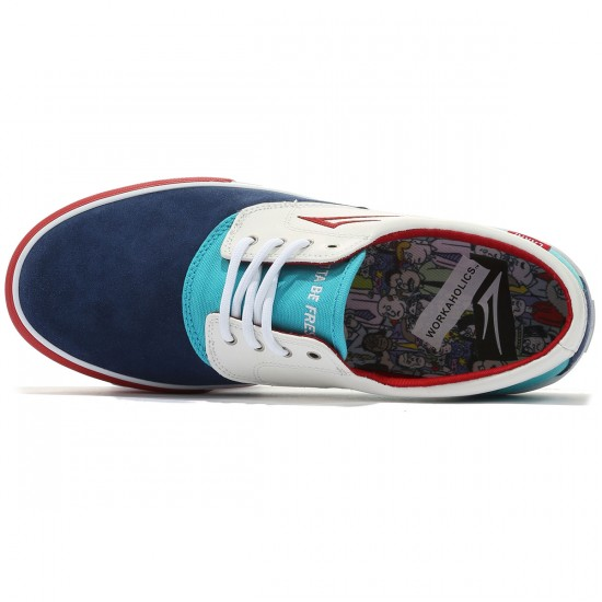 Lakai X Workaholics Camby Shoes - Party Time Suede - 8.0