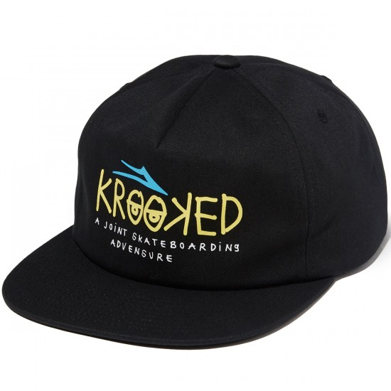 Lakai Krooked Relaxed Hat - Black