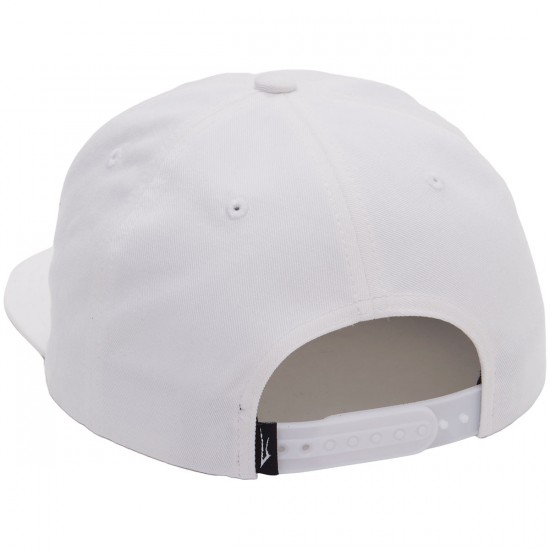 Lakai Krooked Relaxed Hat - White