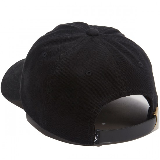 Lakai Krooked Dad Hat - Black