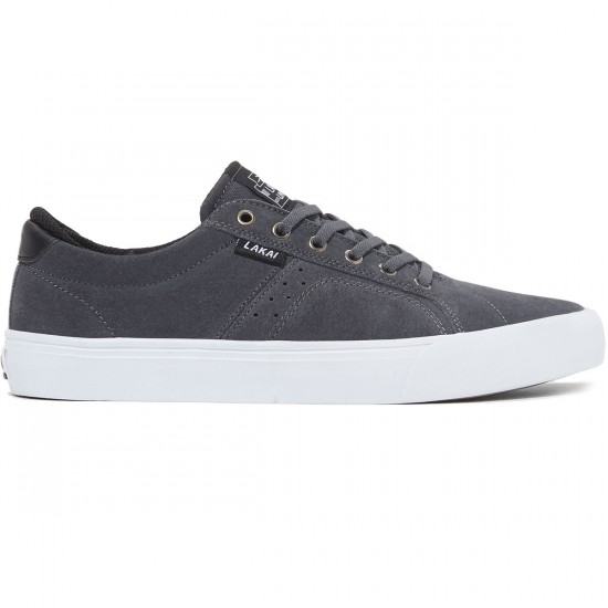 Lakai Flaco Shoes - Phantom Suede - 9.5