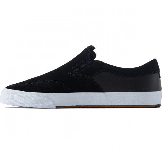 Lakai Owen Vulc Shoes - Black Suede - 8.0