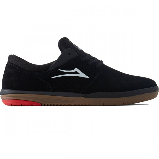 Lakai Freemont Shoes - Black/Gum Suede - 8.0