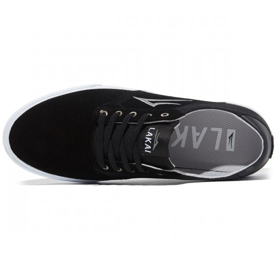 Lakai Porter Shoes - Black Suede - 8.0