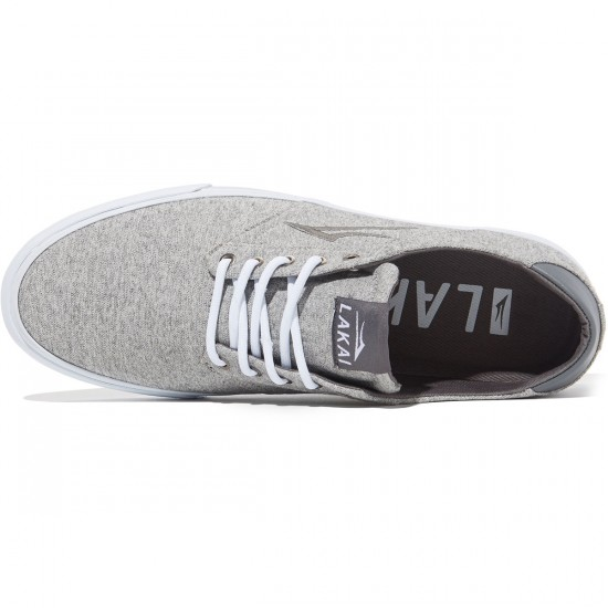 Lakai Porter Shoes - Grey Textile - 8.0
