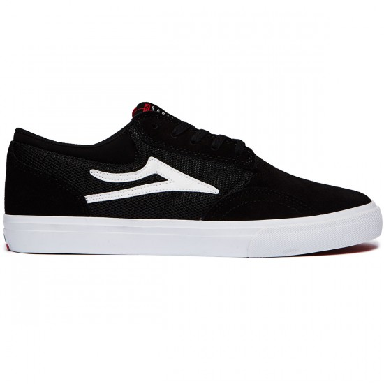Lakai Griffin Mesh Shoes - Black Suede - 8.0