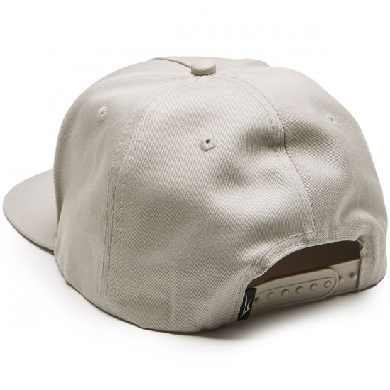 Lakai Basic Snapback Hat - Cement