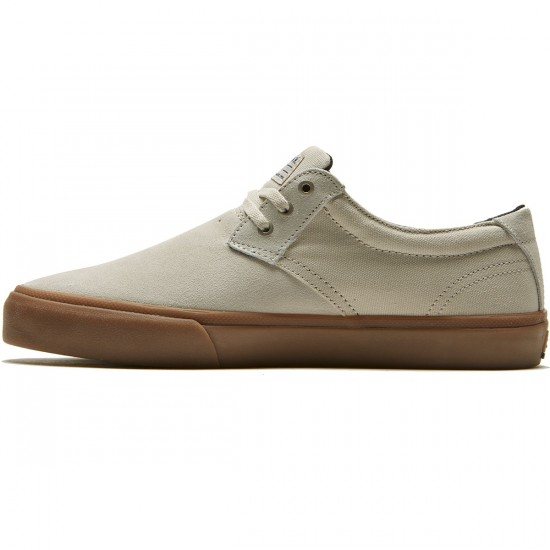 Lakai Daly Shoes - White Suede - 8.0