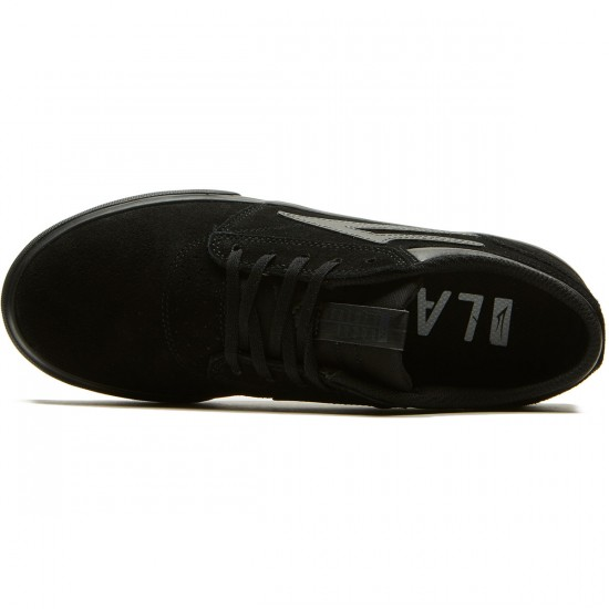 Lakai Griffin Shoes - Black/Black Suede - 8.0
