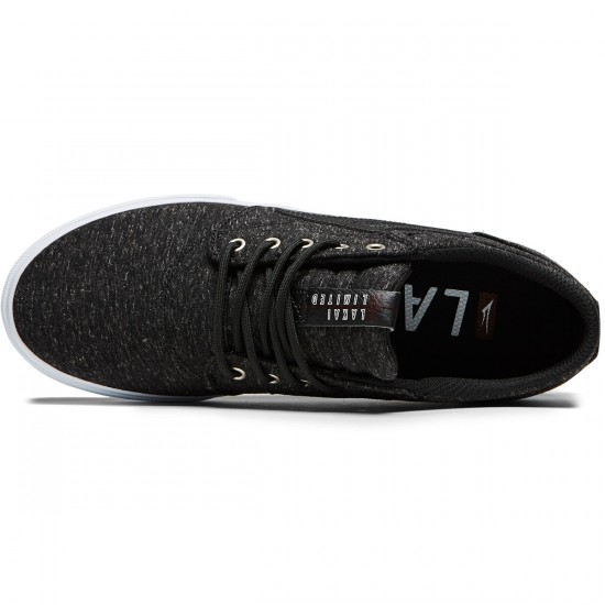 Lakai Griffin Shoes - Black Textile - 8.0