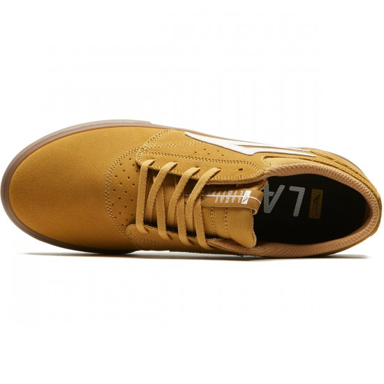 Lakai Griffin Shoes - Gold Suede - 9.0
