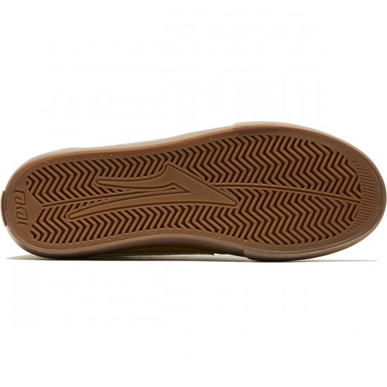 Lakai Griffin Shoes - Gold Suede