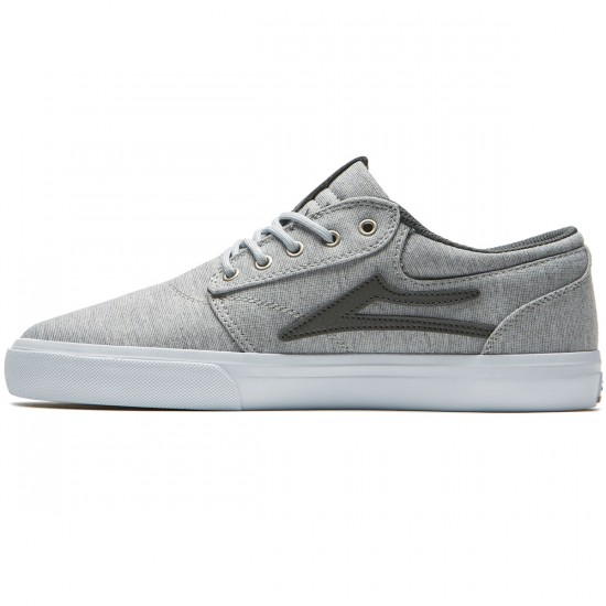 Lakai Griffin Shoes - Grey Textile - 8.0
