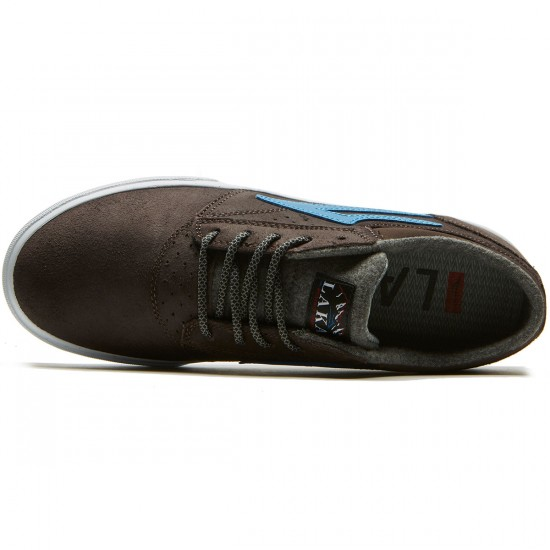 Lakai Griffin WT Shoes - Brown Oiled Suede - 8.0