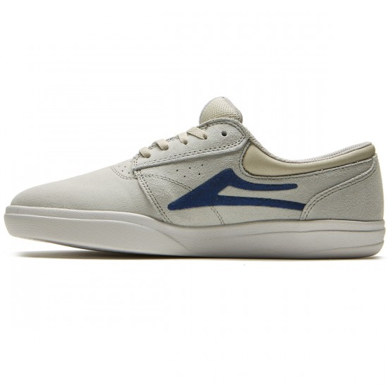 Lakai Griffin XLK Shoes - White Suede - 8.0