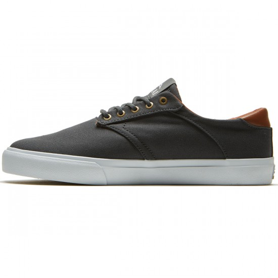 Lakai Porter Shoes - Phantom Canvas - 8.0