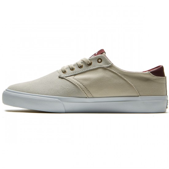 Lakai Porter Shoes - White Suede - 8.0