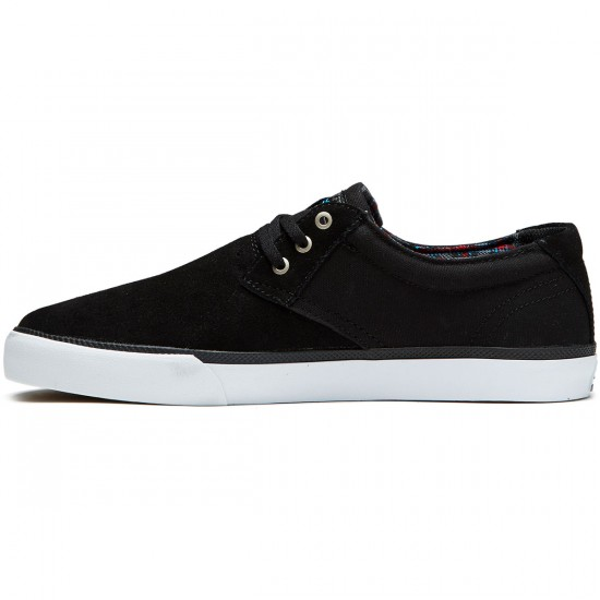Lakai Daly Shoes - Black Suede - 8.0