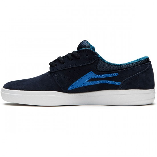 Lakai Griffin XLK Shoes - Navy/Royal Suede - 8.0