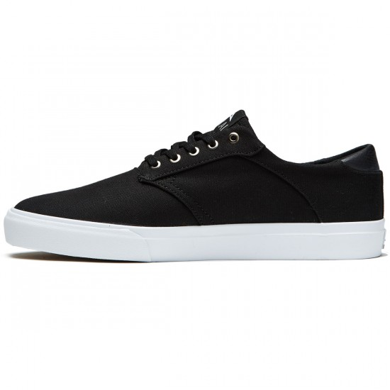 Lakai Porter Shoes - Black Canvas/White - 8.0