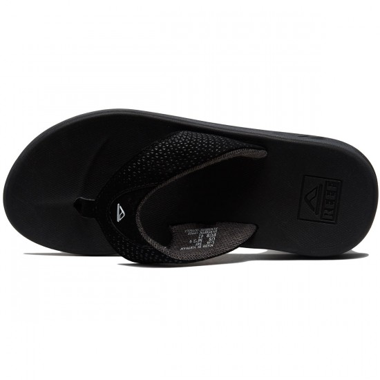 Reef Rover Sandals - Black - 8.0