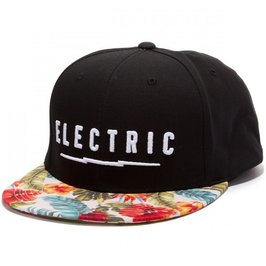 Electric Undervolt Snapback Hat - Tourist
