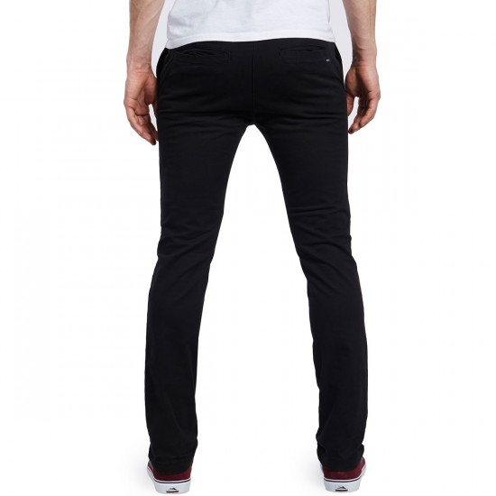 RVCA Stapler Twill Pants - Black - 30 - 32