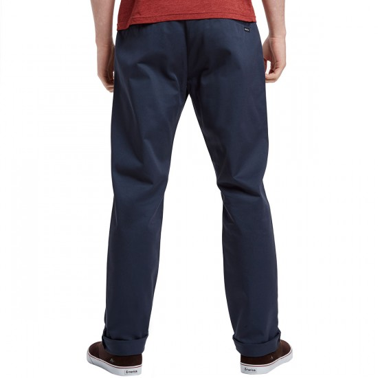 RVCA The Week-End Chino Pants - Midnight - 36 - 32