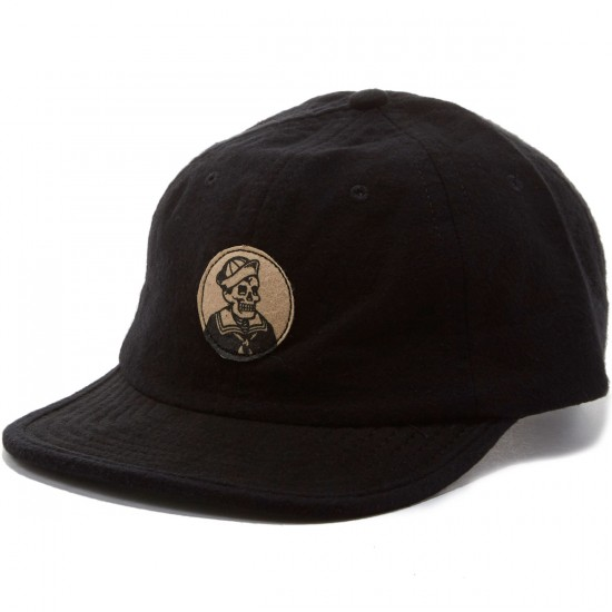 Dark Seas Spurs Hat - Black