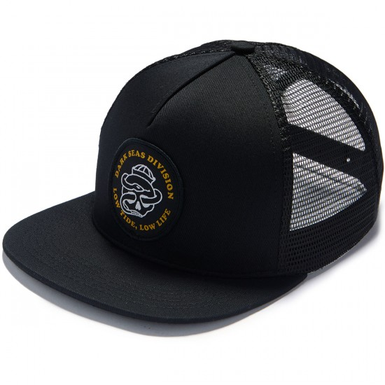 Dark Seas Breakwater Hat - Black