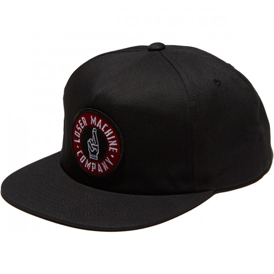 Loser Machine Good Luck Hat - Black