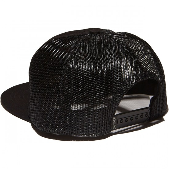 Dark Seas X Grundens Trucker Hat - Black