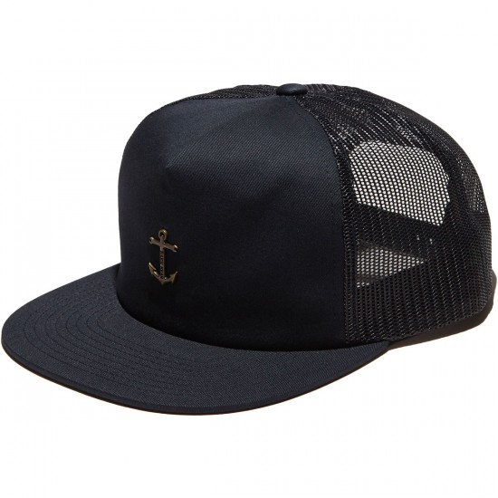 Dark Seas Bottomry Trucker Hat - Dark Navy