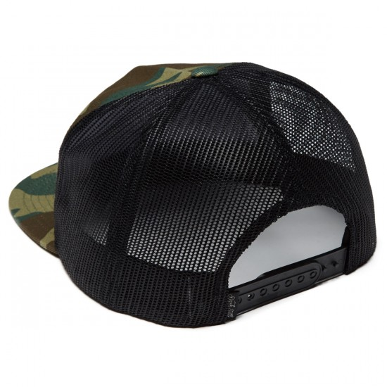 Dark Seas Tridents Trucker Hat - Camo
