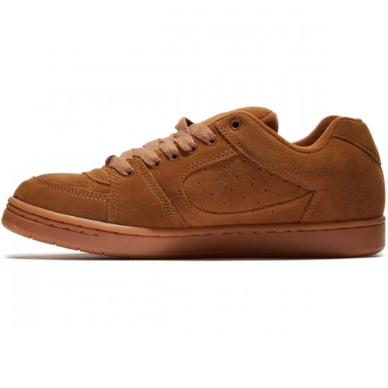 eS Accel OG Shoes - Brown/Gum - 10.0