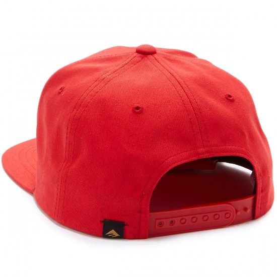Emerica Pure Snapback Hat - Red